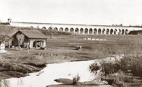 Мытищи и окрестности (Кинохроника и галерея старых фото) Акведук нач 20 века