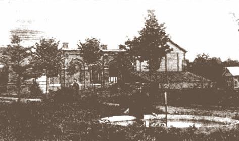 Мытищи и окрестности (Кинохроника и галерея старых фото) Водонасосная башня нач 20 века