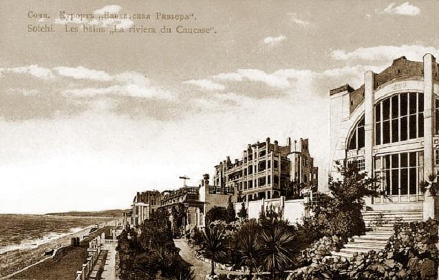 Кинохроника 1922 г.: Кавказская ривьера (Сочи), Лазаревка, Туапсе