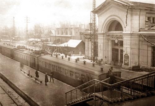 Мытищи и окрестности (Кинохроника и галерея старых фото) Вокзал нач 20 века