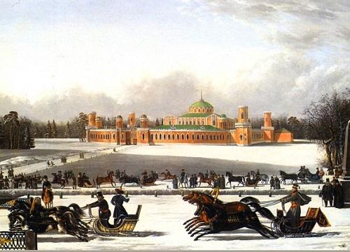 Москва 1908 год. Петровский парк фото
