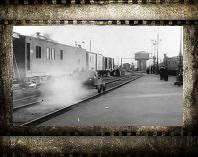 Курский вокзал видео 1918 г. Старое видео Москвы. Курский вокзал история и фото.
