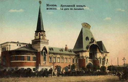 Площадь трех вокзалов в Москве. Кинохроника 1918 и 1927 гг. Ярик