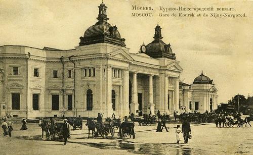 Курский вокзал видео 1918 г. Старое видео Москвы. Курский вокзал фото.