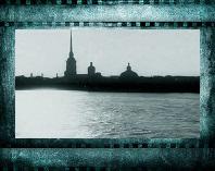 Петропавловская крепость в белую ночь