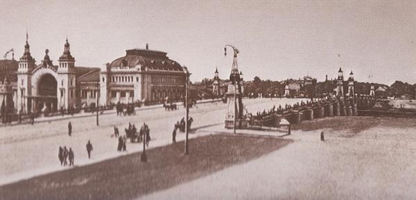Белорусский вокзал история, кадры кинохроники 1928 года