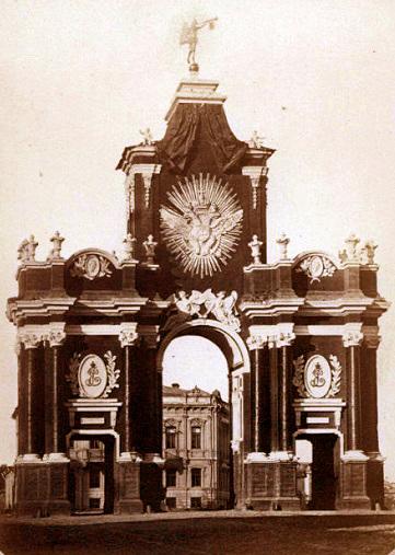 Красные ворота видео 1927 году. История. Красные ворота фото.