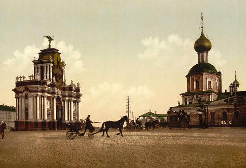 Красные ворота видео 1927 году. История. Красные ворота фотографии