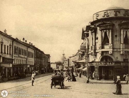Арбатская площадь в середине 20-х годов XX века. Старое видео Москвы.Прага в 1901 г