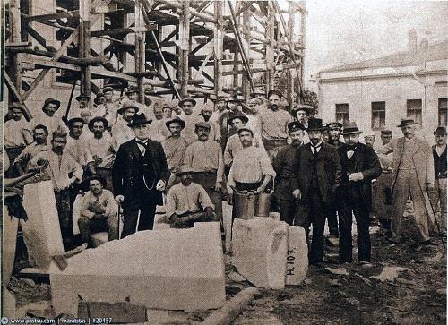 Пушкинский музей на Волхонке. История пушкинского музея и кадры кинохроники 1927 года. фото