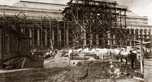 Пушкинский музей на Волхонке. История пушкинского музея и кадры кинохроники 1927 года и фотографии