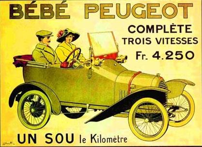Peugeot Bebe. Ретро фото и видео. Первые автомобили в России. Кинохроника прошлого века. Императорский гараж.