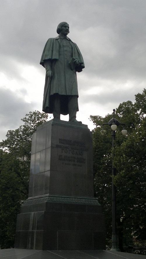 Памятник Гоголю 1912 год