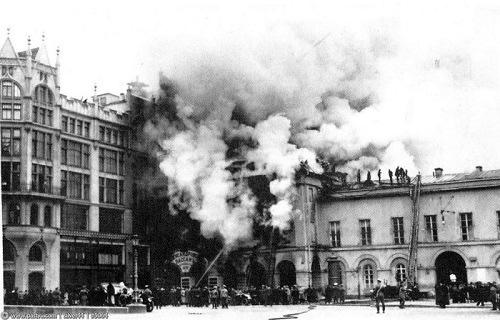 пожар в малом театре