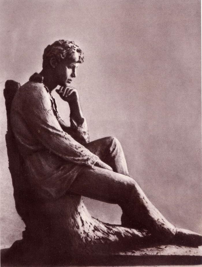 скульптура Есенина. Сергей Есенин. Кинохроника (1918-1922 гг.). Смотрите видео онлайн.