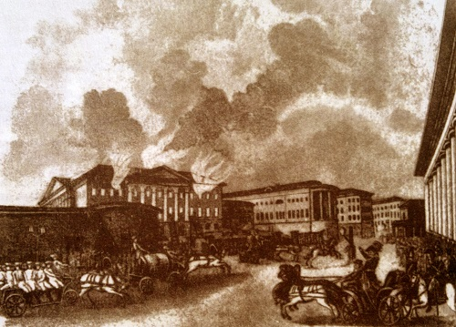 Пожарные в начале 20 века