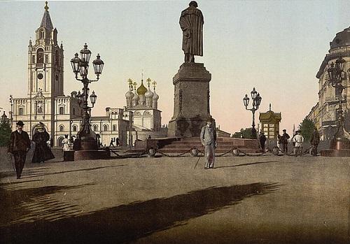 Памятник Пушкину на тверском бульваре. Тверской бульвар фото, история, а также видео 1922 и 1927 годов.