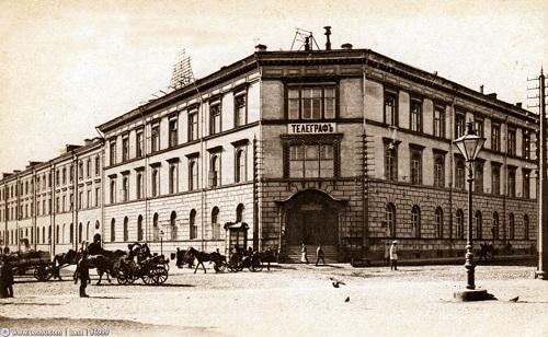 Московский телеграф 1901. Москва Центральный телеграф (видео 1927 г. и история)
