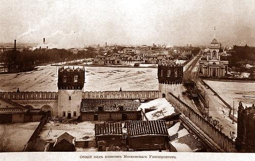 Кинохроника. Девичье поле в Москве (видео 1918 г.). Новодевичий монастырь фото.