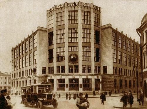 Телеграф в Москве 1930. Москва Центральный телеграф (видео 1927 г. и история)