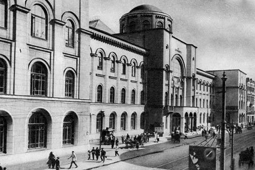 Почта России. Московский почтамт Мясницкая (видео 1927 г.)