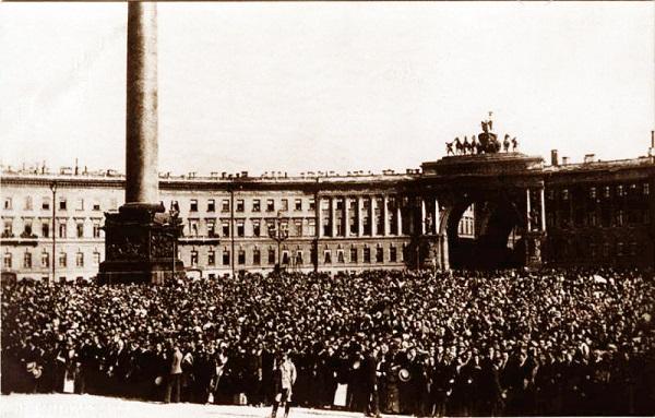 Дворцовая площадь, июль 1914 года
