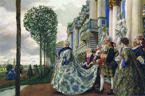 Елизавета Петровна в Царском селе