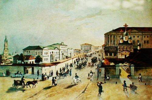 Московский почтамт на Мясницкой в 1840 г. Московский почтамт Мясницкая (видео 1927 г.)
