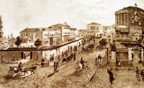 Почтамт в Москве в 1840. Московский почтамт Мясницкая (видео 1927 г.)
