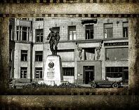Площадь Воровского в кинохронике
