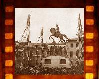 Кинохроника открытия памятника Скобелеву