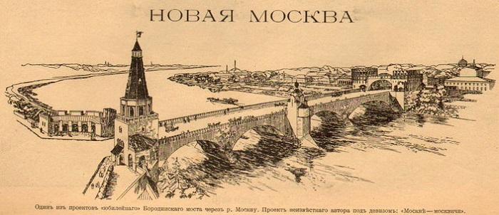 Прыжки в воду в 1913 году. Кинохроника. Бородинский мост в Москве.