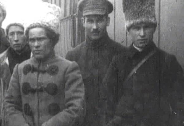 Кадр кинохроники. Батька Махно видео 1919 года. Фото и история.