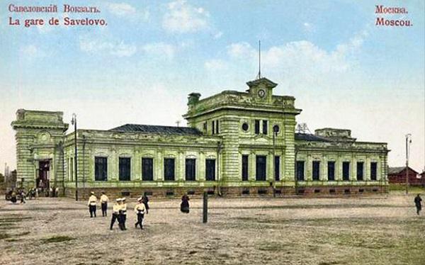 Савеловский вокзал. За Бутырской заставой. Неподалеку от Савеловского вокзала. 1918 год