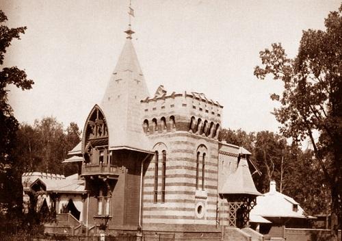 Дача Морозова. Москва 1908 год. Петровский парк фото и старая кинохроника.
