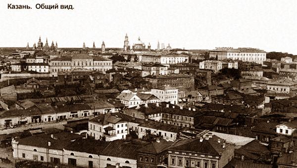 Казань. Ретро-фото и видео