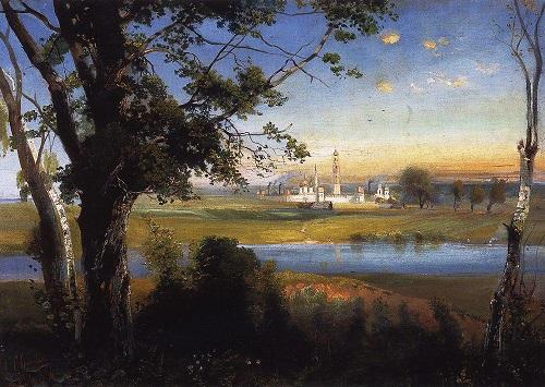 Девичье поле в Москве (видео 1918 г.). Новодевичий монастырь фото.