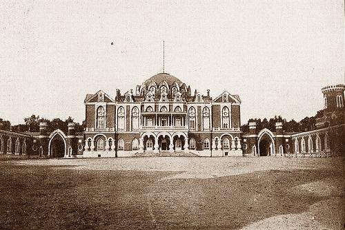 Москва 1908 год. Петровский парк фото и старая кинохроника.