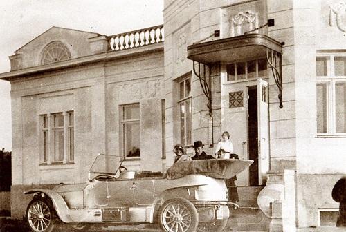 В гости к архитектору. Москва 1908 год. Петровский парк фото и старая кинохроника.