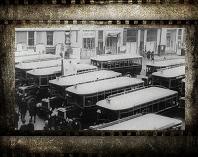 История общественного транспорта в Москве. Видео середины 20-х гг. XX века. Конка, трамваи, автобусы.
