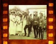 Кинохроника. Николай II посещает 80-й Кабардинский пехотный полк. 1914 год.
