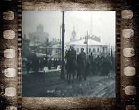 Волхонка. Кинохроника. Видео кадры старой Москвы 1919 г.