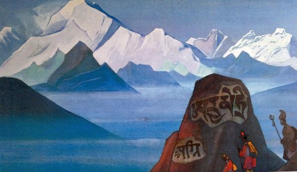 Путь на Кайлас. пакт рериха, экспедиция тибет, рерих шамбала, николай рерих картины, николай рерих фото, николай рерих биография