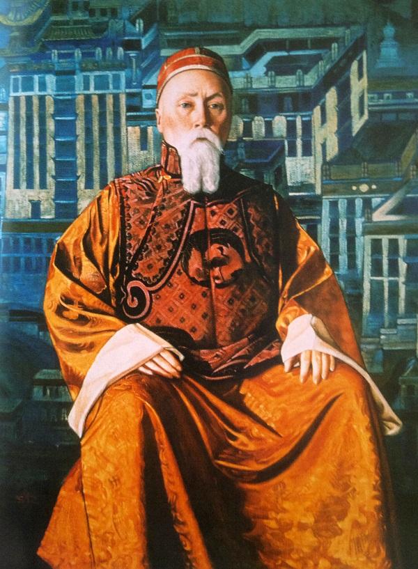 С.Н. Рерих. Портрет Н.К. Рериха. Кинохроника. Экспедиция на Тибет. Рерих биография
