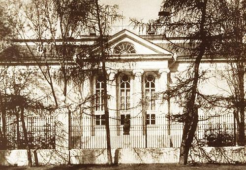 Вилла Черный лебедь. Москва 1908 год. Петровский парк фото и старая кинохроника.