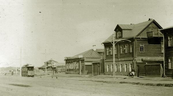 За Бутырской заставой. Неподалеку от Савеловского вокзала. 1918 год