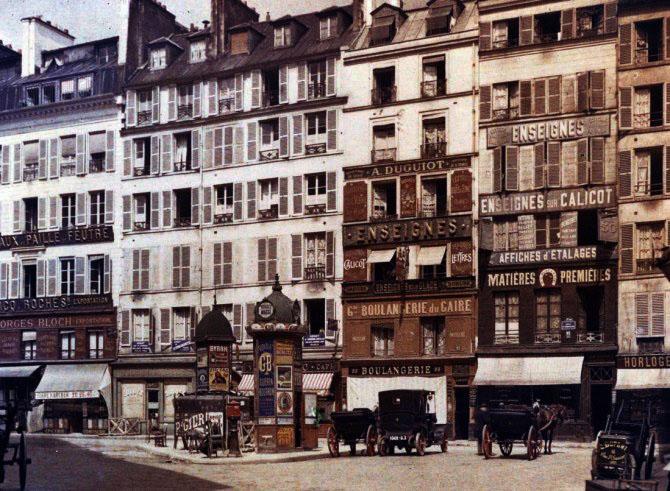 Европейские страны в 19 веке. Старая кинохроника. Франция.