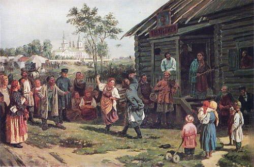 Русские народные танцы Пряничников