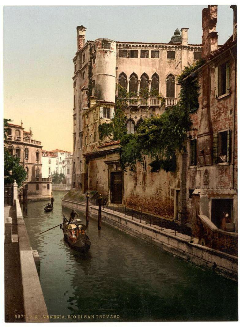 Италия в позапрошлом 19 веке. Старая кинохроника.