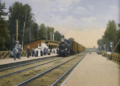Мытищи и окрестности (Кинохроника и галерея старых фото) Станция Перловская нач 20 века